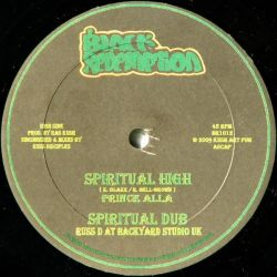 "Prince Alla - Spiritual High - 10"" - Black Redemption"