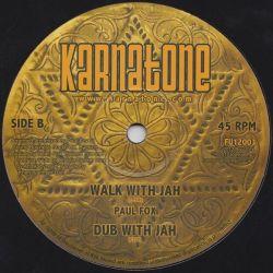 "Paul Fox  - Be Careful / Walk With Jah - 12"" - Karnatone"