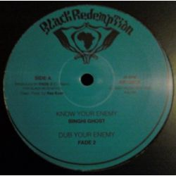 "Binghi Ghost / Fade 2 - Know Your Enemy / Emergency Brake - 12"" - Black Redemption"