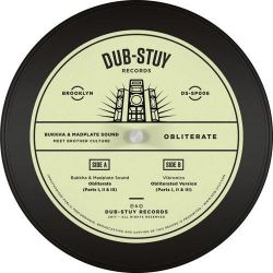 "Bukkha / Madplate Sound / Brother Culture - Obliterate - 12"" - Dub-Stuy Records"