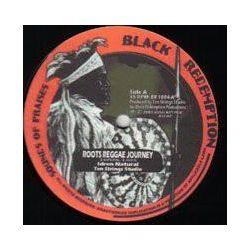 "Idren Natural / Ten Strings Studio - Meditate / Roots Reggae Journey - 10"" - Black Redemption"