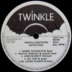Twinkle Brothers - Enter Zion - LP - Twinkle Music