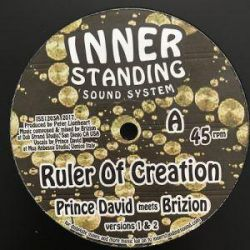 "Brizion / Prince David - Ruler Of Creation - 12"" - INNER standing"