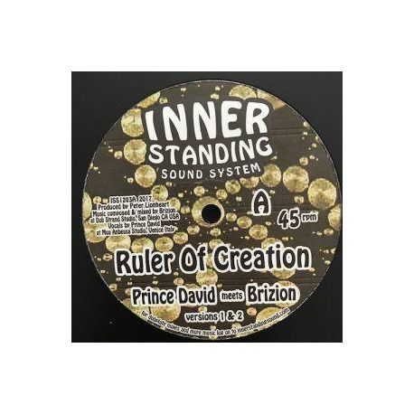 """Brizion / Prince David - Ruler Of Creation - 12"""" - INNER standing"""