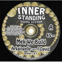 "Arkaingelle / I-David - Mek We Build - 12"" - INNER standing"