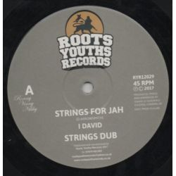 "I-David - Strings For Jah / Until Next Time  - 12"" - Roots Youths Records"
