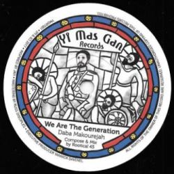 "Daba Makourejah / Rootikal 45 - We Are The Generation - 7"" - Yi Mas Gan Records"