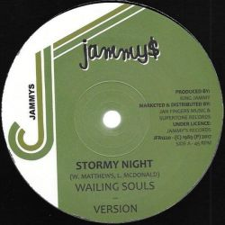 "Wailing Souls / Robert Lee  - Stormy Night / Lovely Lady - 12"" - Jammys Records"