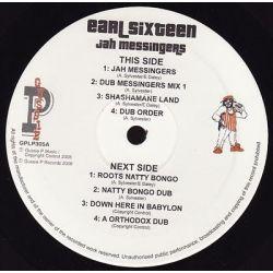 Earl Sixteen - Jah Messingers (Sip A Cup Showcase Vol. 5) - LP - Gussie P Records