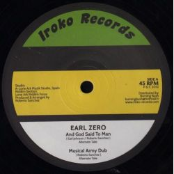 "Earl Zero - And God Said To Man / None Shall Escape The Judgment - 12"" - Iroko Records"