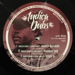 "Danny Red / Indica Dubs / Echo Vault - I&I A Conqueror / Mighty Warrior - 12"" - Indica Dubs"