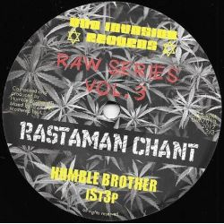 "Humble Brother / Ist3p - Rastaman Chant - 7"" - Dub Invasion Records"