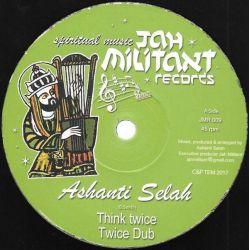 "Ashanti Selah / Don Fe - Think Twice - 12"" - Jah Militant Records"