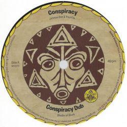 "Jonah Dan / Paul Fox  - Conspiracy / Congo - 12"" - Shades Of Black Music"