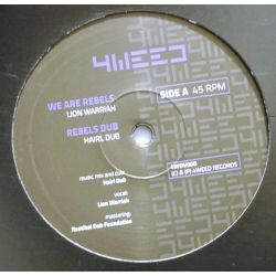 "Lion Warriah / Hairl Dub / Madplate Sound - We Are Rebels - 12"" - 4Weed Records"
