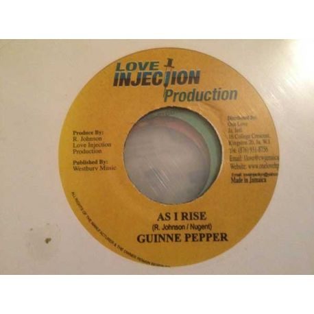 Guinney Pepper ‎– As I Rise - 7''