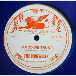 "The Morwells / Mike Brooks - In God We Trust / Wonderful World - 12"" - Sagittarius Records Ltd"
