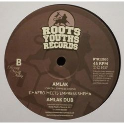 "Chazbo / Empress Shema - King Selassie I Calling - 12"" - Roots Youths Records"