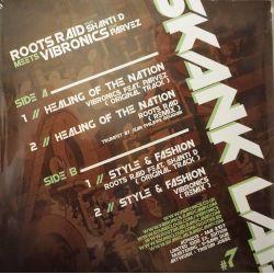 "Roots Raid / Vibronics - Skank Lab 7 - Roots Raid Meets Vibronics - 12"" - LAcouphène"