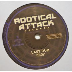 "Ist3p - Last Prayer - 7"" - Rootical Attack Records"