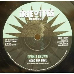 "Dennis Brown - Mood For Love - 7"" - Irie Ites Records"