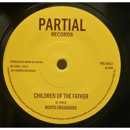 "The Roots Crusaders - Children Of The Father - 7"" - Partial Records"