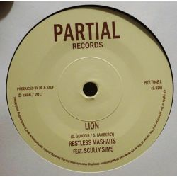 "Restless Mashaits / Noel ""Scully"" Simms - Lion - 7"" - Partial Records"