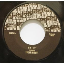 "Sugar Minott - U N I T Y  - 7"" - Black Label Archive Recording"