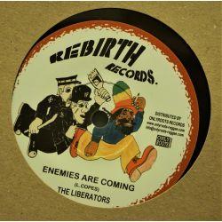 "Liberators - Enemies Are Coming - 7"" - Rebirth Records"