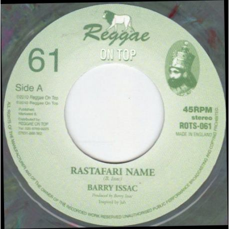Barry Issac - Rastafari Name - 7""