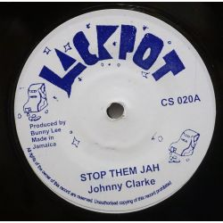 "Johnny Clarke - Stop Them Jah - 7"" - Jackpot"