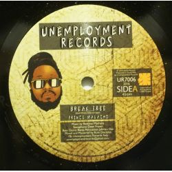 "Prince Malachi - Break Free - 7"" - Unemployment Records"