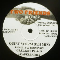 "Gregory Isaacs - Quiet Storm - 12"" - Two Friends Records"