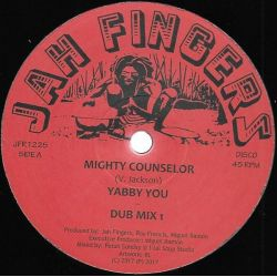 "Yabby You - Mighty Counselor - 12"" - Jah Fingers Music"
