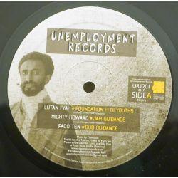"Lutan Fyah / Mighty Howard / Filomuzik /  - Jah Guidance Riddim and Remixes - 12"" - Unemployment Records"