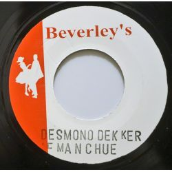 "Desmond Dekker & The Aces - Fue Manchu - 7"" - Beverleys Records"