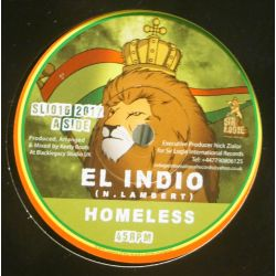 "El Indio  - Homeless - 7"" - Sir Logie International Records"