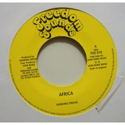 "Ranking Dread - Africa - 7"" - Freedom Sounds"