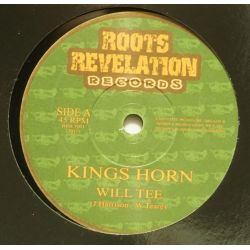 "Will Tee - Kings Horn - 7"" - Roots Revelation Records"