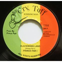 "Prince Far I - Blackmans Land - 7"" - Cry Tuff"