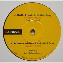"Ghetto Priest - Life Ain't Easy - 7"" - Ramrock"