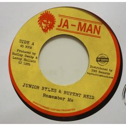 "Junior Byles / Rupert Reid - Remember Me - 7"" - Ja-Man Records"
