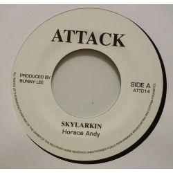 "Horace Andy / King Tubby - Skylarkin / Skylarkin Dub - 7"" - Attack"