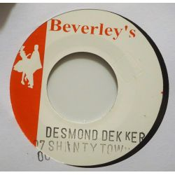"Desmond Dekker & The Aces - 007 (Shanty Town) - 7"" - Beverleys Records"
