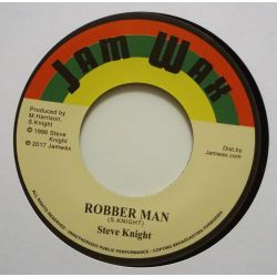 "Steve Knight  - Robber Man  - 7"" - Jamwax"