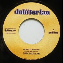 "Spectacular / Ras Mac Bean - Heart Is Willing / Trodding - 7"" - Dubiterian"