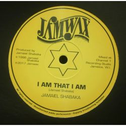"Jamaiel Shabaka - I Am That I Am  - 12"" - Jamwax"