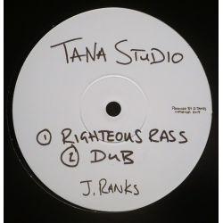 "Jimmy Ranks -  Righteous Rass / Jah - 10"" - Tana Studio"