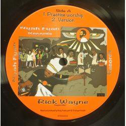"""Rick Wayne / Isiah Mentor - Practise Worship - 10"""" - Nyah Fyah Records"""