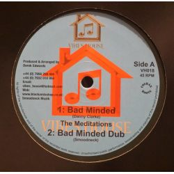 "The Meditations / Dezzi D - Bad Minded/Lion Strength - 10"" - Vibes House"